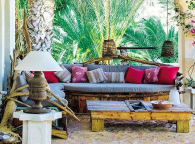 Island design: Outdoor living rooms